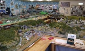 建築模型制作技術の社会貢献 湯郷温泉鉄道ジオラマ